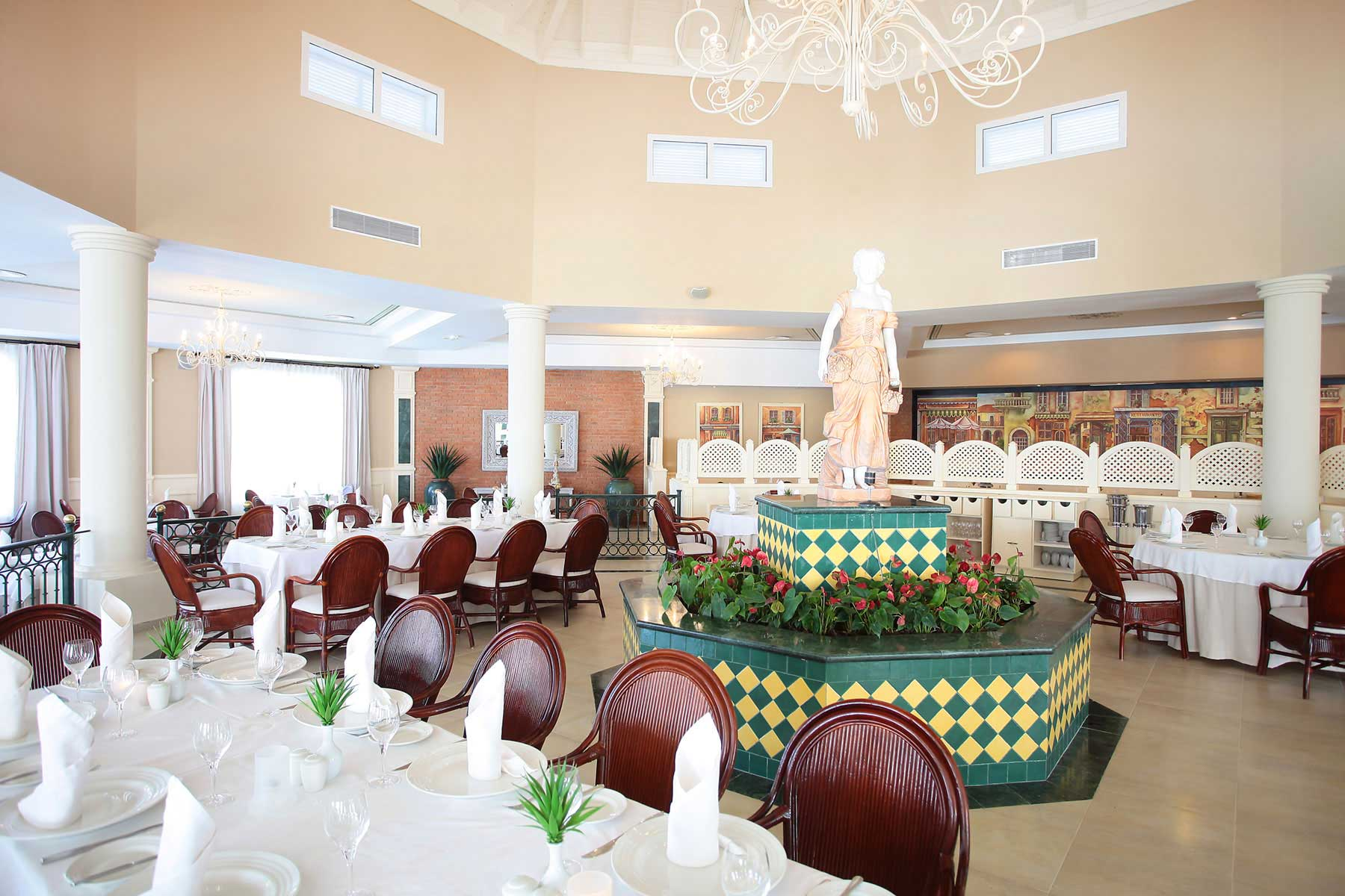 Luxury Bahia Principe Ambar Green Punta Cana Resort Restaurants Bars